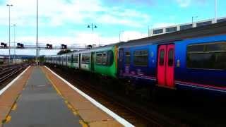 *Mega Rare* Southern 319 and thamslink 319 depart Brighton