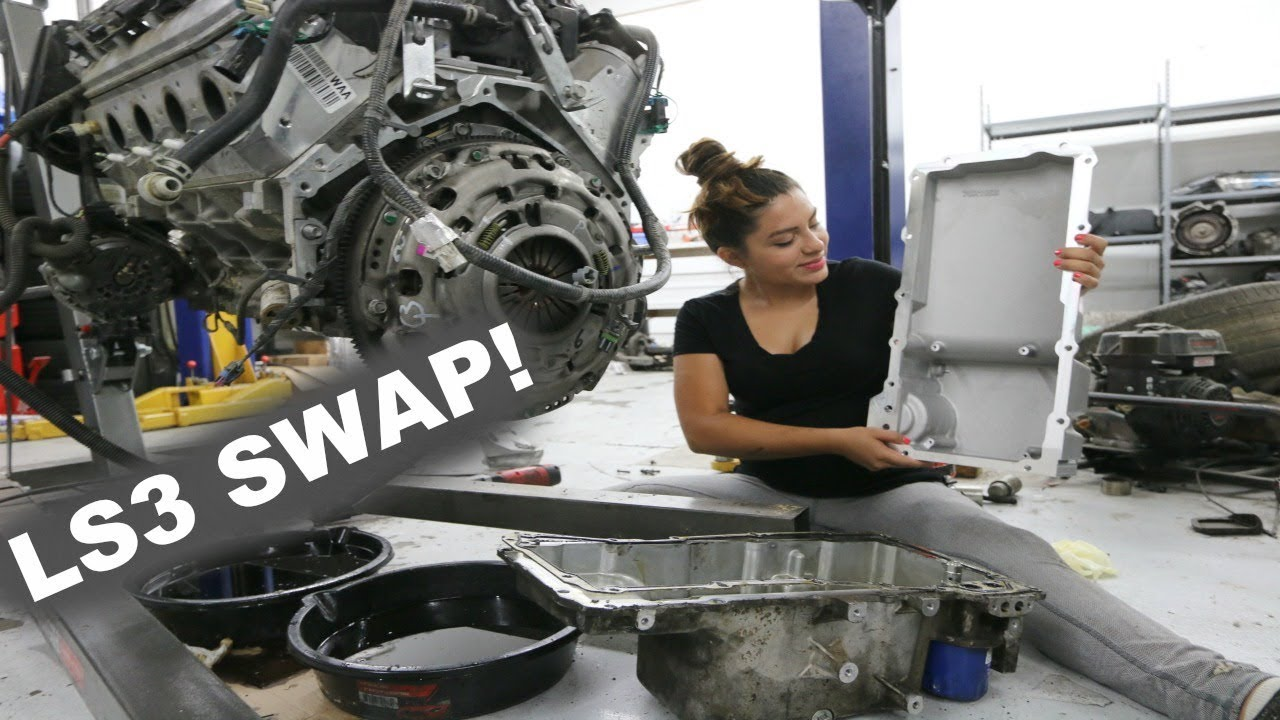 NEW OIL PAN FOR THE LS ENGINE! + Installation