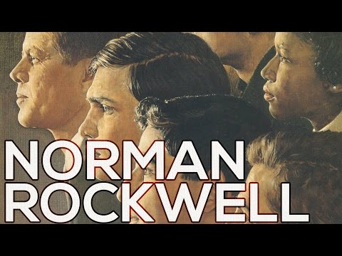 Norman Rockwell: A collection of 337 paintings (HD)
