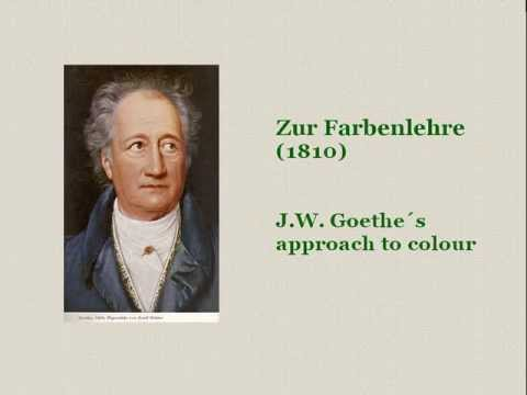 Goethe's Theory of Colours, Part 1