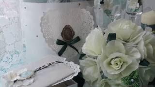 СВАДЕБНЫЕ АКСЕССУАРЫ В ИЗУМРУДНОМ ЦВЕТЕ~Wedding Ideas~