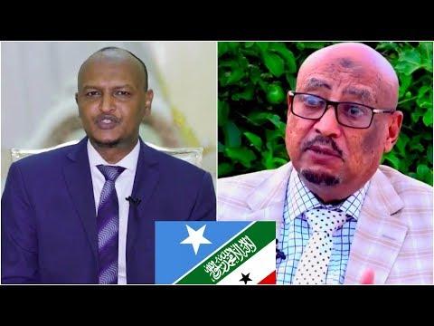 Faysal cali waraabe iyo Mahdi Guuleed oo Kahadlay Wadahadalka Somaliland iyo Somalia