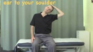 Neck Lateral Flexion Stretch
