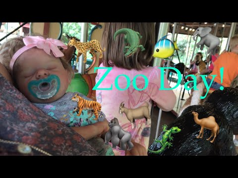 Silicone Baby Goes to the zoo! Woman calls Josie weird! Reactions and more.