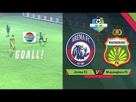 Goal Kedua Rivaldi Bawuo  Arema FC 3 vs Bhayangkara FC 0  GoJek Liga 1 Bersama Bukalapak