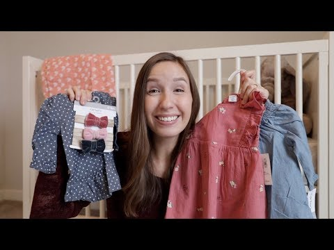 My First Ever BABY GIRL Haul!!