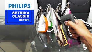 PHILIPS, Setrika HD1172 Classic perbandingan dengan HD1173 (Review Indonesia)