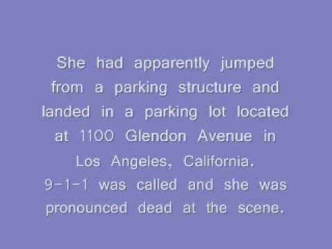 2006 California - Unidentified White Female ** photo of deceased **
