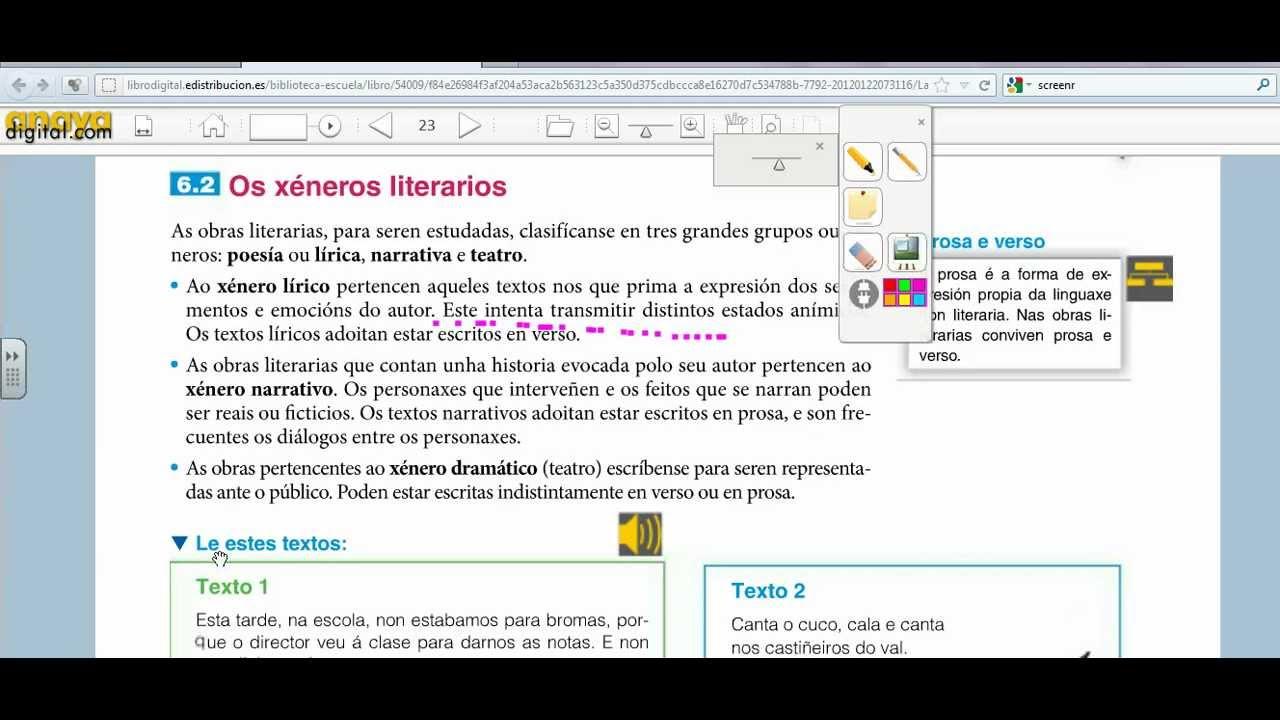Libro digital del alumno. Anaya - YouTube