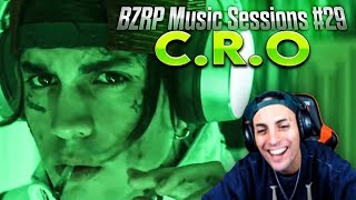 REACCIONANDO A C.R.O || BZRP Music Sessions #29