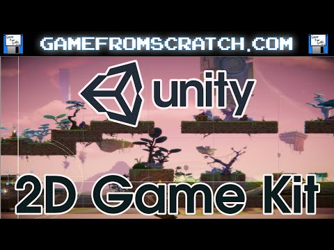 Unity Release Excellent And Free 2D Game Kit And Tutorial -- Zero Programming Required (Initially!)
