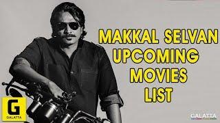 Vijay Sethupathis Upcoming 13 Films | Junga | Chekka Chivantha Vaanam | Makkal Selvan