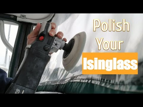 How to restore your boats Isinglass windows.