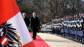 Ehrenbataillon - Österreichs Präsident - Militärische Ehren