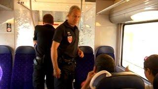 Migrants: tous les trains sont désormais contrôlés à la frontière franco-italienne thumbnail
