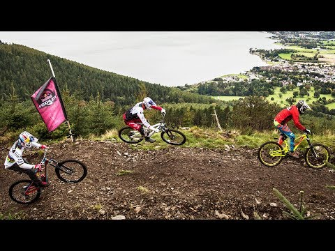 Take an on-board ride with Gee Atherton at Red Bull Foxhunt.