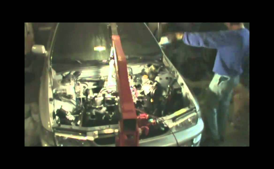 Subaru Impreza 2 5 RS EJ251 Engine Swap Time Lapse