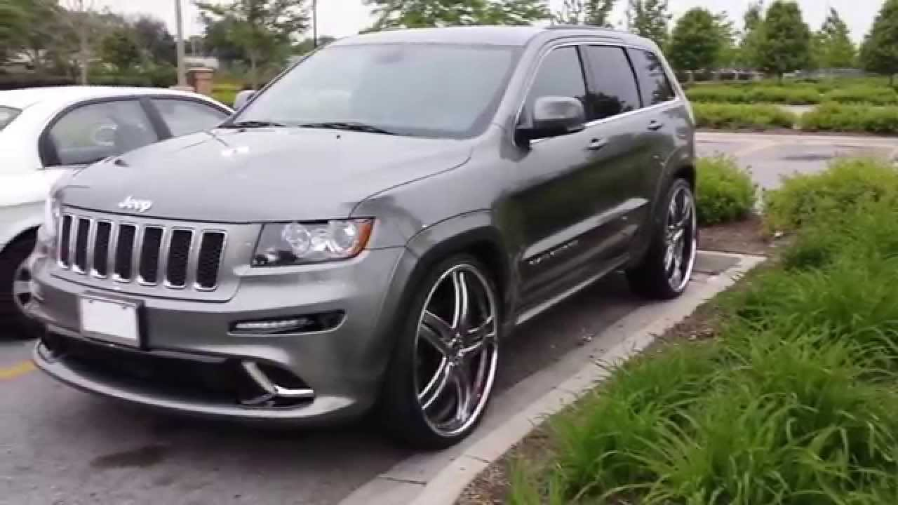 2013 Srt8 Jeep 26 Inch Vellano Vtt Youtube