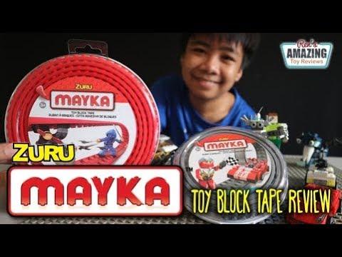 Zuru Mayka Toy Block Tape Review - Смешные видео приколы