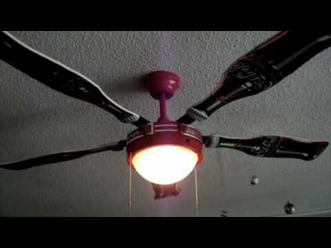 Coca cola ceiling fan youtube aloadofball Gallery