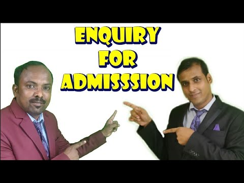 Enquiry for Admission in a School || English Speaking Conversation in Odia Odisha BBSR Video Lesson