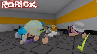 YOU CAN ONLY GO CROUCHED! *SUPER HARD CHALLENGE* ROBLOX FLEE THE FACILITY ImKiroh