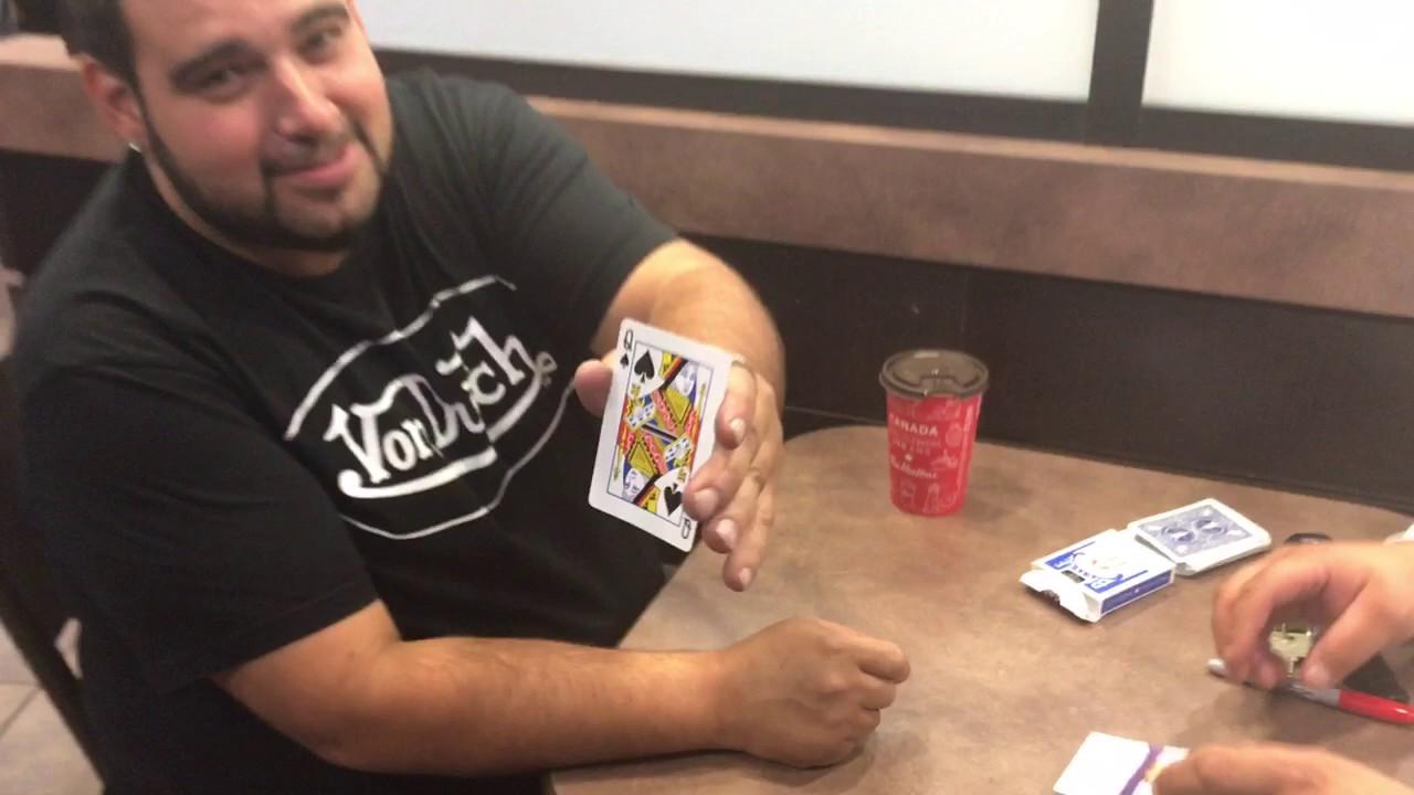 Business Card Magic Trick Youtube