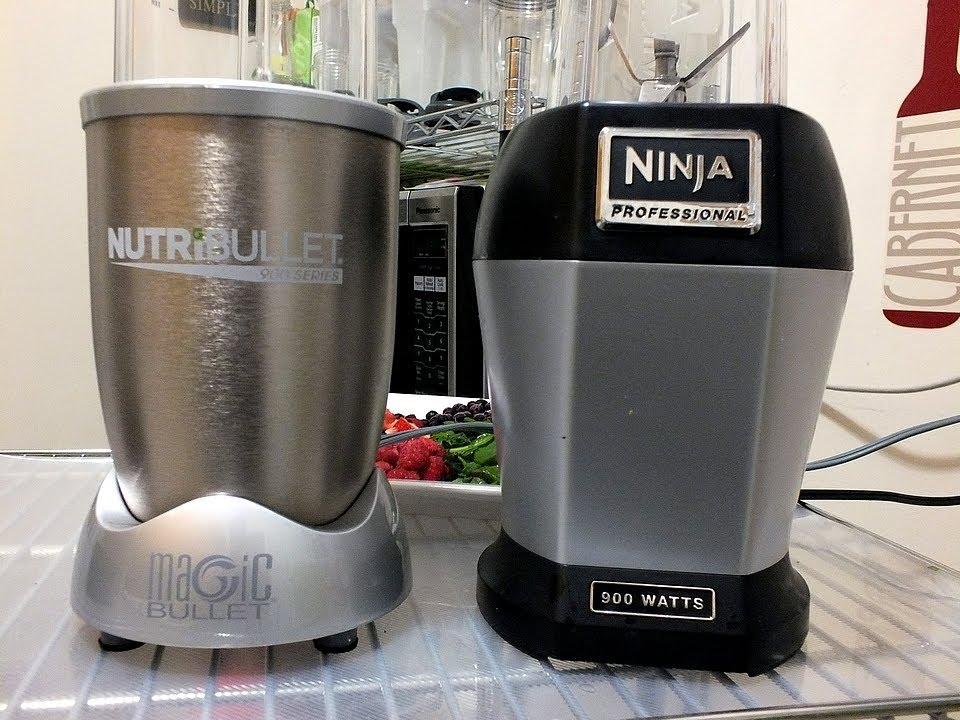 Nutri ninja pro vs the nutribullet 900 comparison review for Magic bullet motor watt