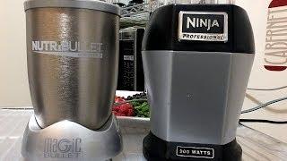 NUTRI NINJA PRO VS THE NUTRIBULLET 900 COMPARISON REVIEW