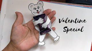 Valentine Special | Teddy Day Card | DIY Chocolate Card | Handmade Gift