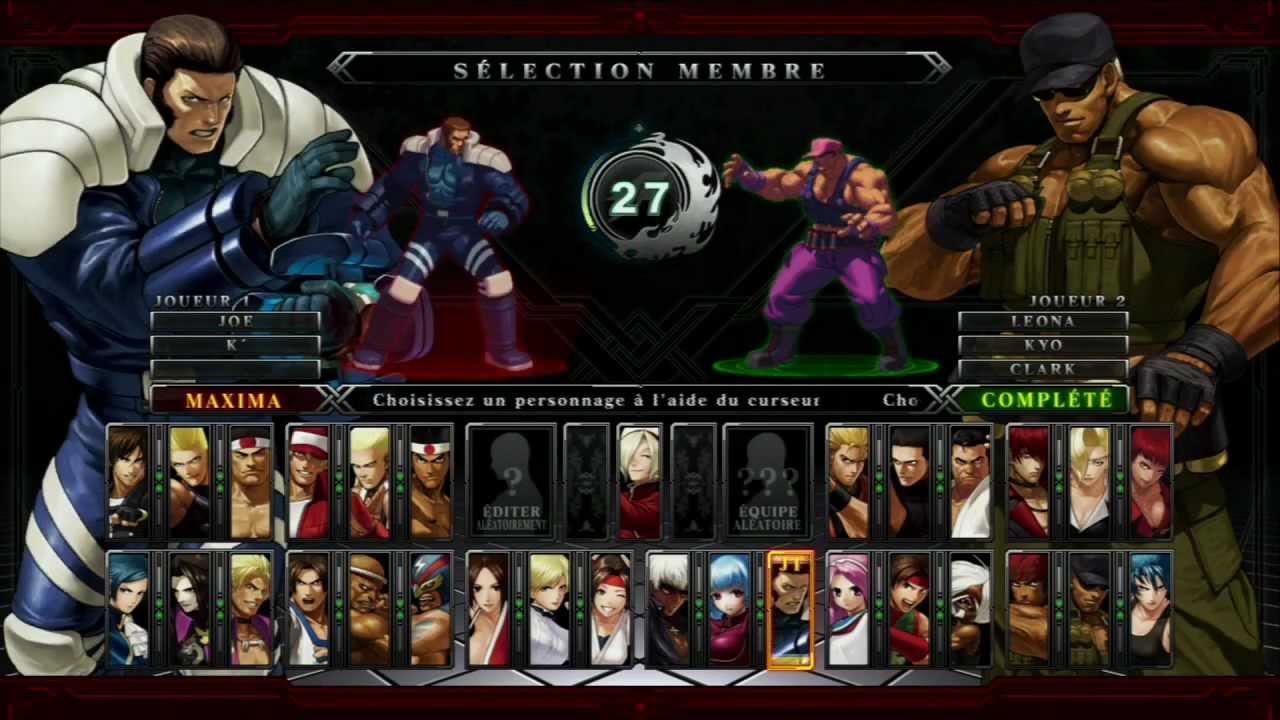 Ps3 Fight King Of Fighters Xiii Avec Rezard Youtube