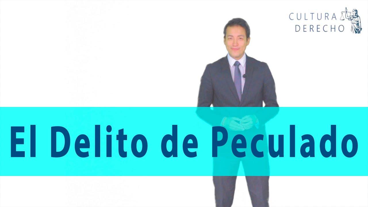 Download El Delito de PECULADO