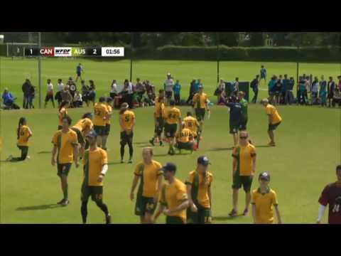 WUGC 2016 - Canada vs Australia Mixed