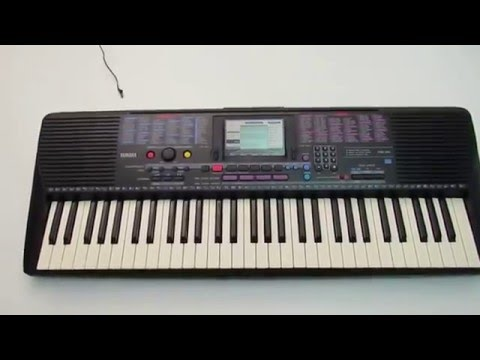 Yamaha PSR-220 Portable Electronic Keyboard Piano Testing (for sale eBay)