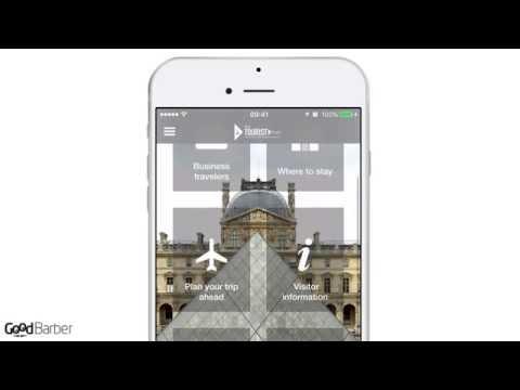 The Tourist in Paris - a Tourism App