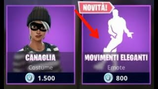 SHOP FORTNITE 01/10/2018 !! NUOVA EMOTE MOVIMENTI ELEGANTI, SKIN MAXIMILIAN E AIRHEART