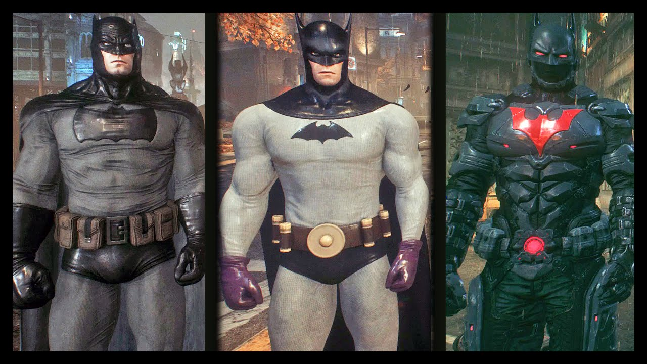 Origins Skins All Arkham
