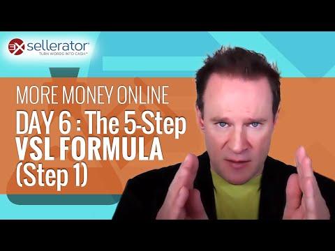 More Money Online, Day 9: The 5-Step VSL Formula (Step 4)