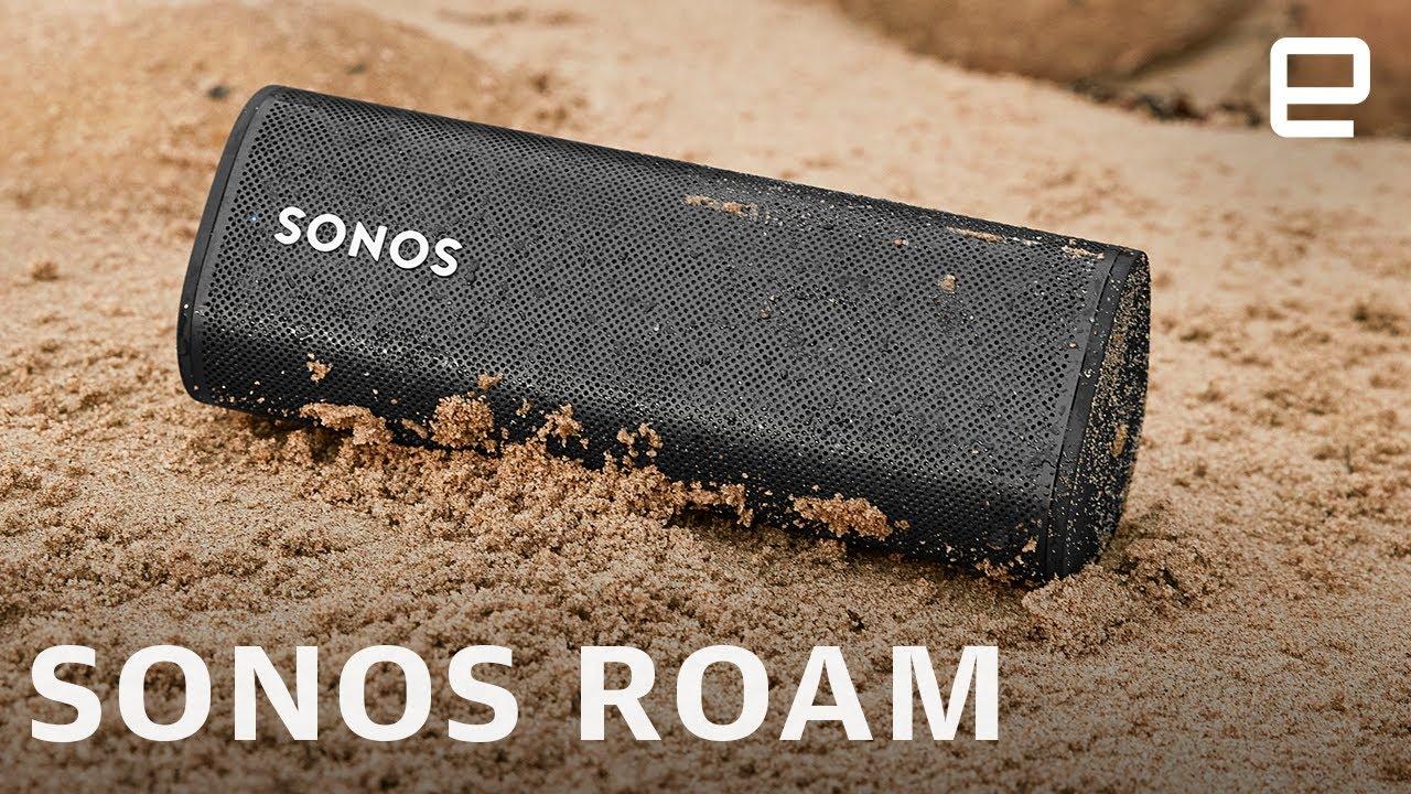 Sonos Roam is a smart speaker built for adventures - YouTube