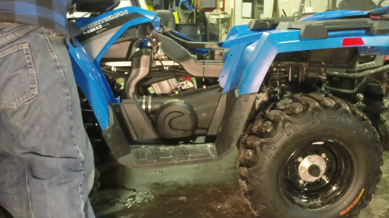 Polaris Sportsman Clutch Removal by FrewSlinger