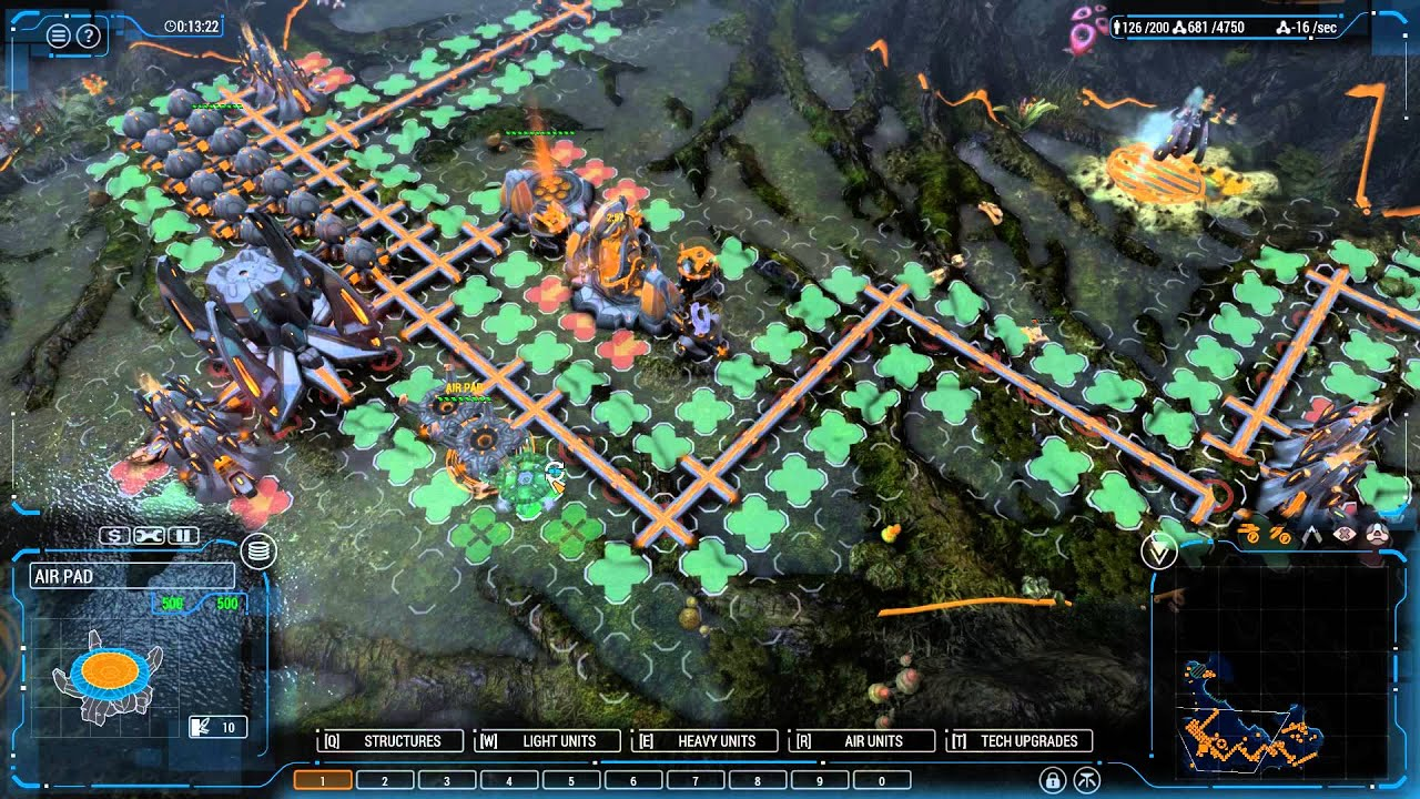 Live Replay: Grey Goo: Humans vs Beta