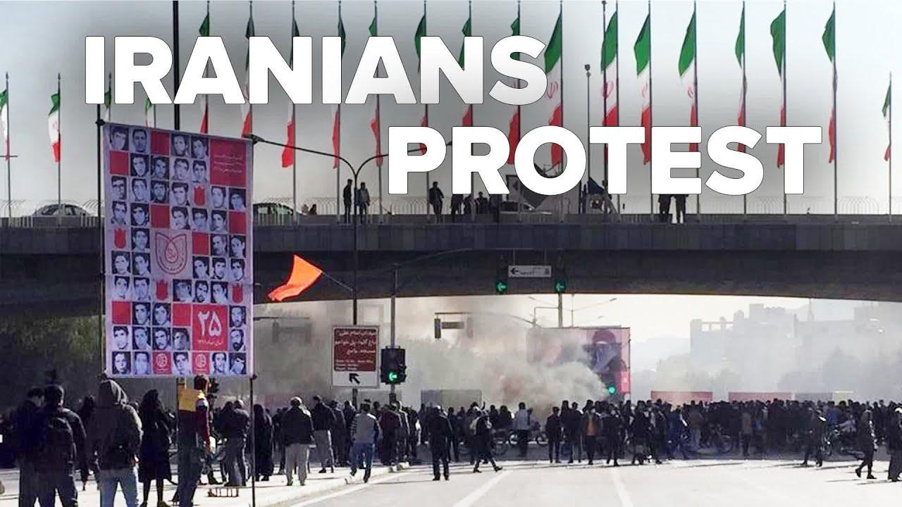 Iranian Protesters Shout Death to Supreme Leader Khameni 11/29/19