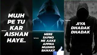 Appna mujhko ko bana ke Jiya Dhadak Dhadak. New 2019 full screen Whatsapp stutas video #soorajpanthi