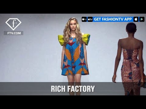 South Africa Fashion Week Fall/Winter 2018 - Rich Factory |