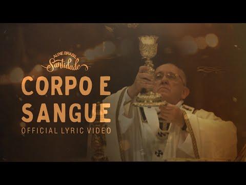 Aline Brasil - Corpo e Sangue (Official Lyric Video) - CD SANTIDADE