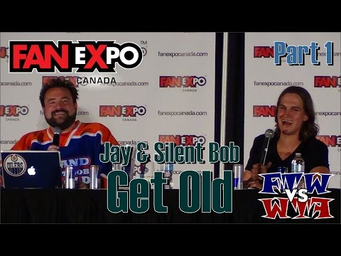 Jay & Silent Bob Get Old - Kevin Smith - Jason Mewes - Fan Expo Canada - Part 1