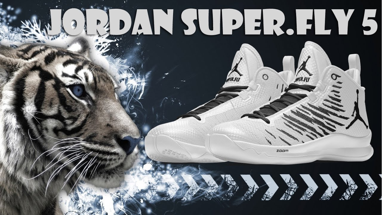 c8080b3159b87 WHITE TIGER COLORWAYS JORDAN SUPER.FLY 5 CUSTOM NIKE ID - YouTube