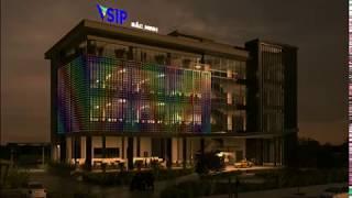 Đèn led trang trí tòa nhà   led building