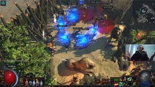 Lvl 94 Gladiator vs Vaal Temple 3.2 [HARDCORE] + BONUS