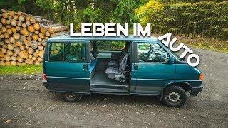 Experiment Leben im Auto - Zuhause auf vier Rädern   NexLeit